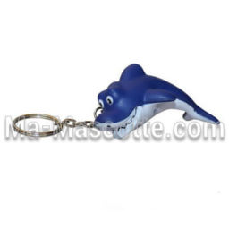 Shark Keychain Custom Stress Foam Manufacturing. Cutomized stress foam shape.