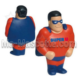 Super hero Custom Stress Foam Manufacturing. Cutomized stress foam shape.