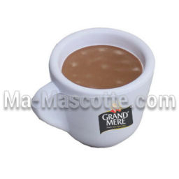 Coffee mug Custom Stress Foam Manufacturing. Cutomized stress foam shape.