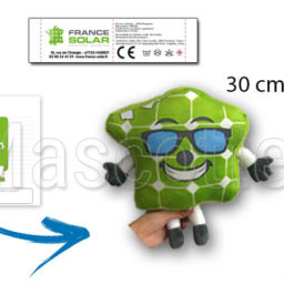 Custom Made Plush Toy France solar.