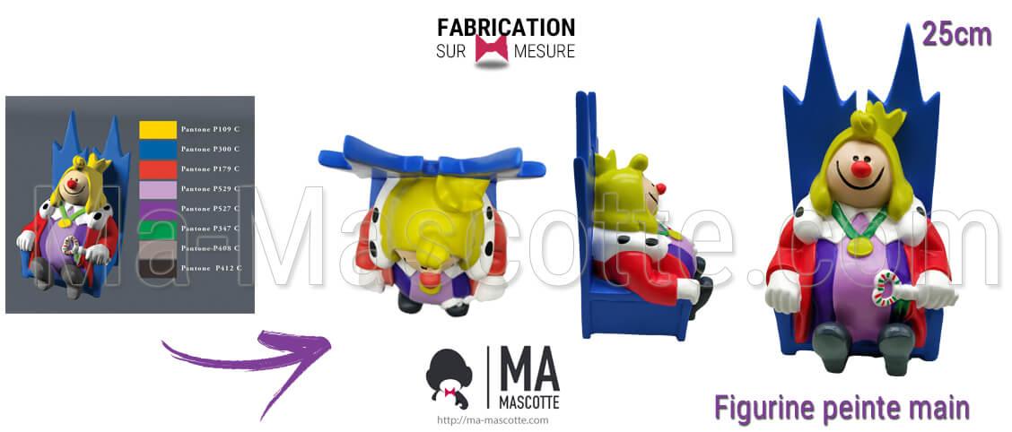 Fabrication Figurine Sur Mesure Résine décoration. Figurine Personalisée.
